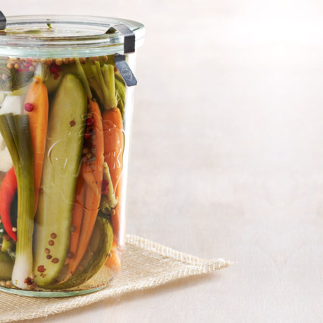 Refrigerator Pickles Cauliflower, Carrots, Cukes, You