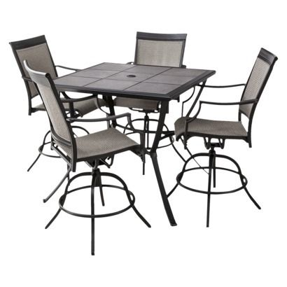 Threshold™ Harriet 5 Piece Sling Balcony Height Patio Dining Furniture Set