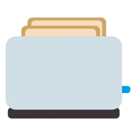 Alphabetical Pnghunter Part 757 Toaster Flat Icon Layout Template