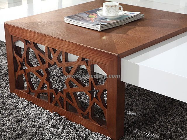 Cc61 China High Gloss Mdf Modern Coffee Table In White Cc61