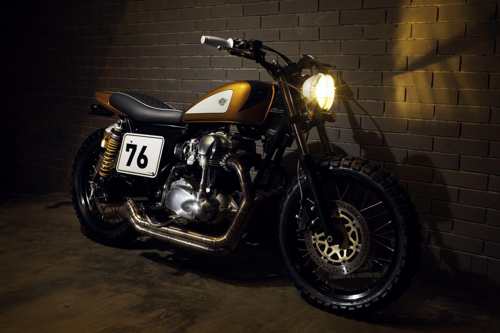 Kawasaki W650 Gold Digger ~ Return of the Cafe Racers