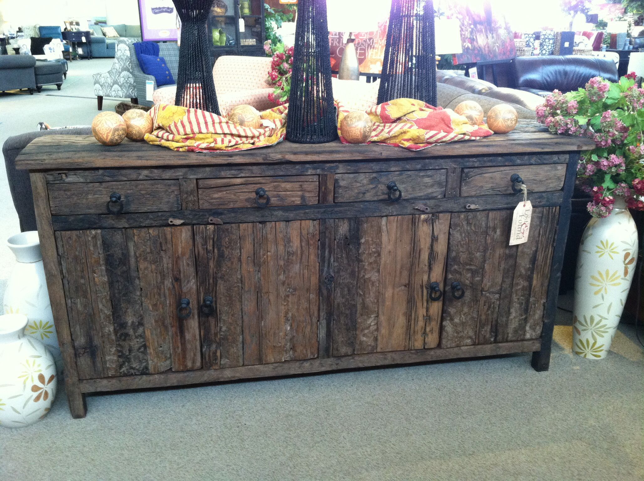 Console Table Sideboard from Furniture Row Lost & Found