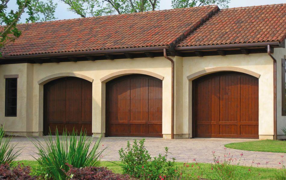Custom Carriage House Stain Grade Doors Dutchess Overhead Doors, Inc.  Poughkeepsie, NY