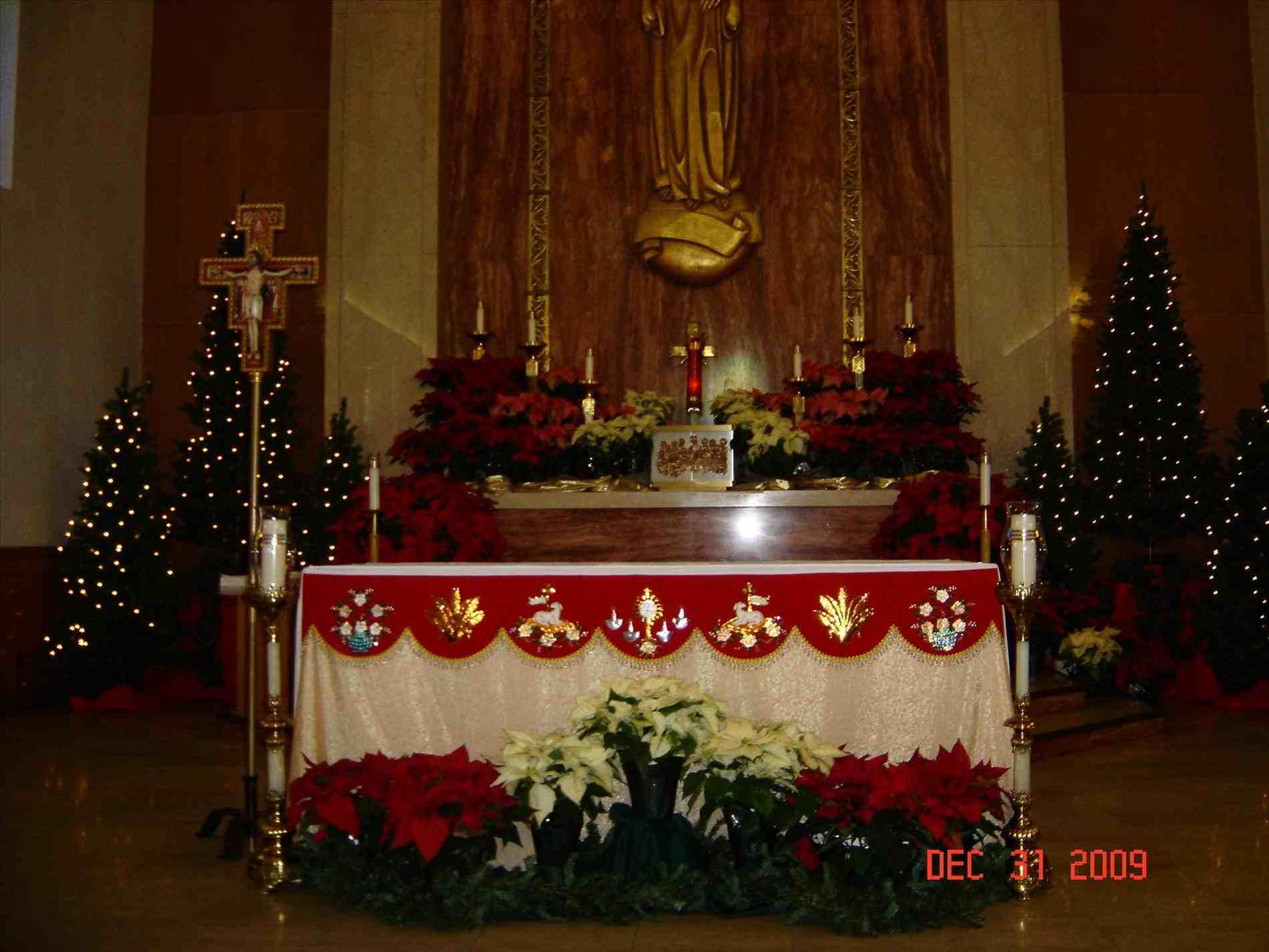 christmas religious decorations