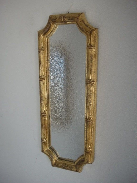 Vintage lamps light fixtures sconces mirrors hollywood regency danish modern mid century modern home decor wall decor. - vtg gold gilt hollywood regency italian faux bamboo wall mirror , $39.00 (http://www.famousturtletreasures.com/vtg-gold-gilt-hollywood-regency-italian-faux-bamboo-wall-mirror/)