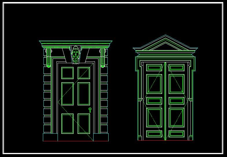Architecture Decoration Drawings Cad Library Autocad