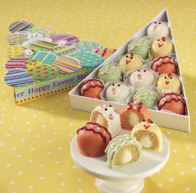 Easter cake balls easter pinterest cake ball easter and cake food gifts bakery cheese sausage negle Gallery