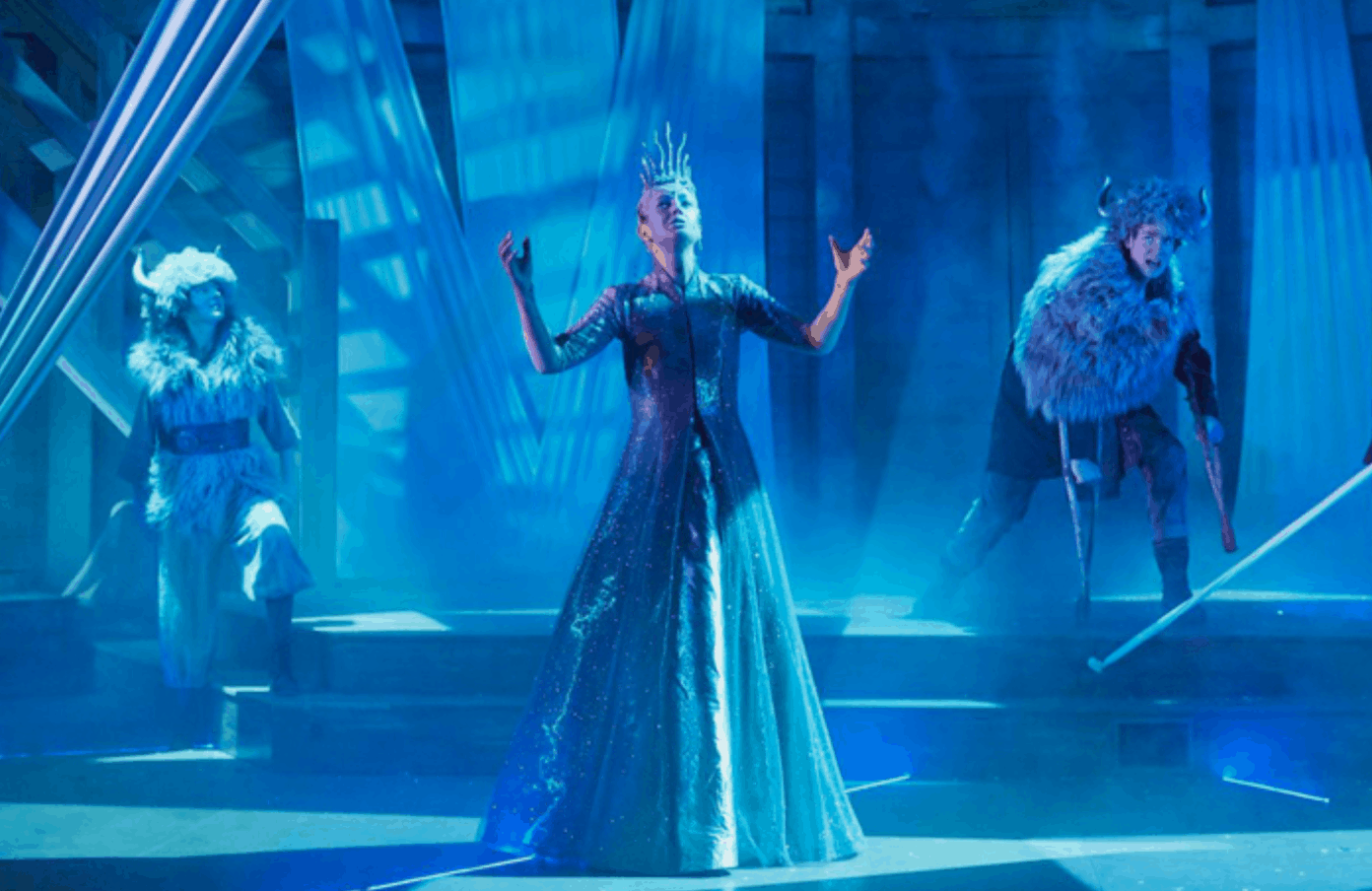 Rose Theatre Christmas 2020 The Snow Queen at the Rose Theatre, Kingston   Snow queen, Three