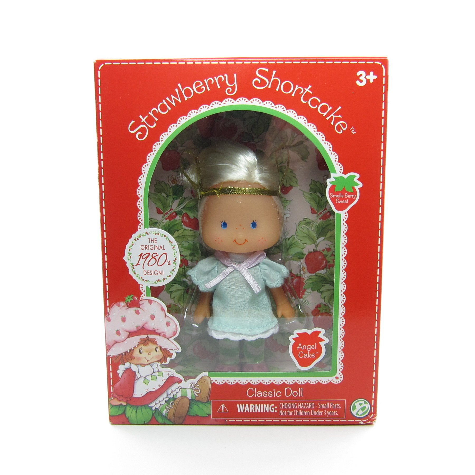 Strawberry Shortcake doll BRAND NEW Classic Vintage Style Blueberry Muffin bear