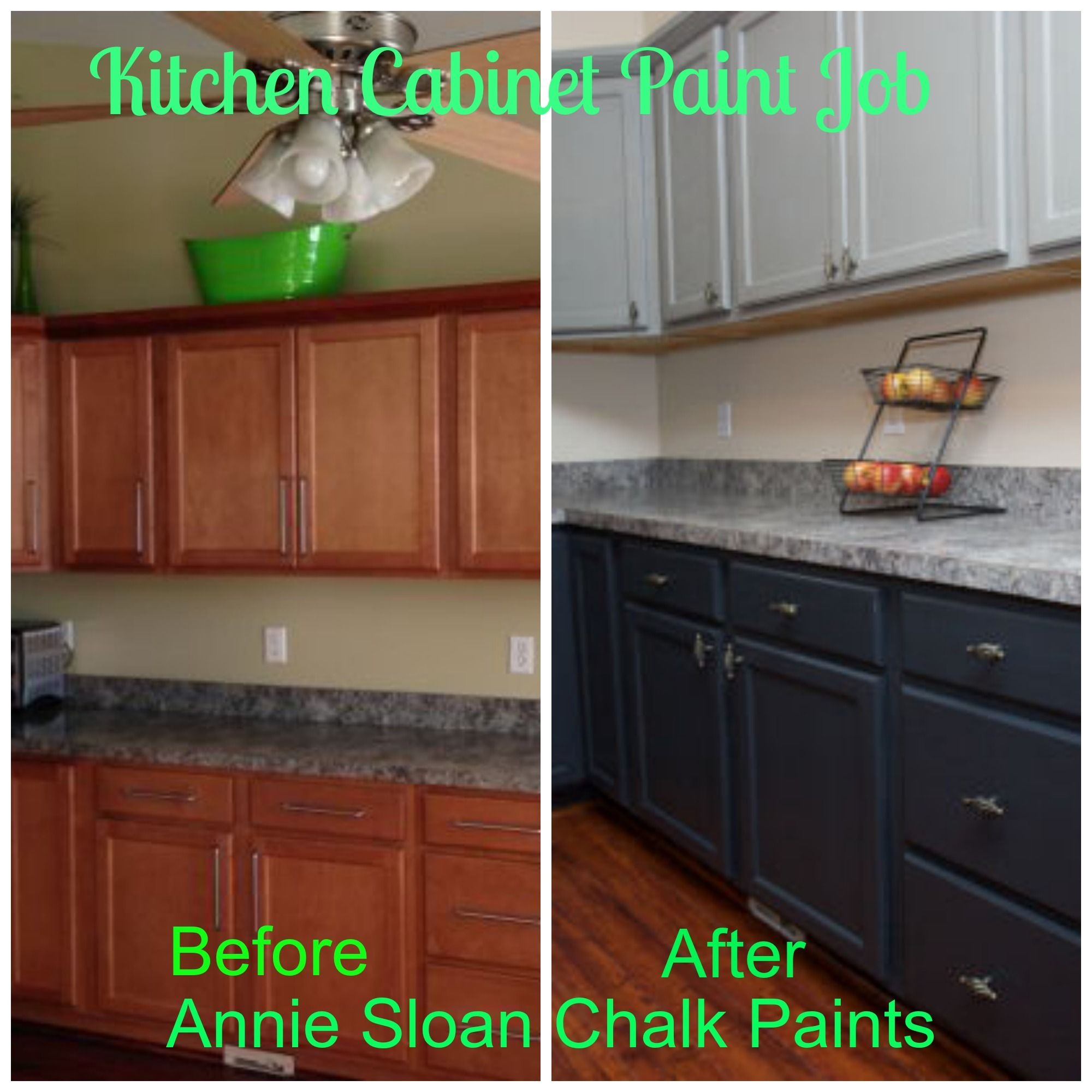 Chalk Paint Kitchen Cabinets Annie Sloan: Annie Sloan Repainted Cabinets