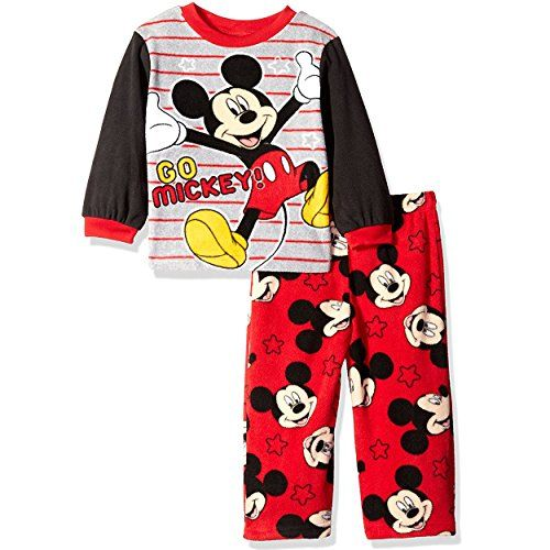 649e1825e4b5 Disney Boys Mickey Mouse 2 Piece Fleece Set  Pajamas  KidsPajamas ...
