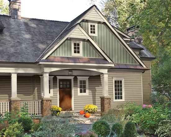 Rustic home siding exteriors give your home a classic for Rustic board and batten homes