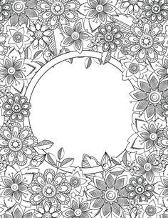 Adult Colouring Page Color Coloring Pages