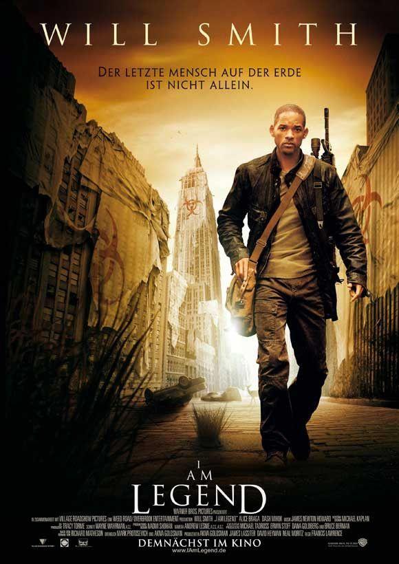 I Am Legend (German) 27x40 Movie Poster (2007)   Buenas pelis y ...
