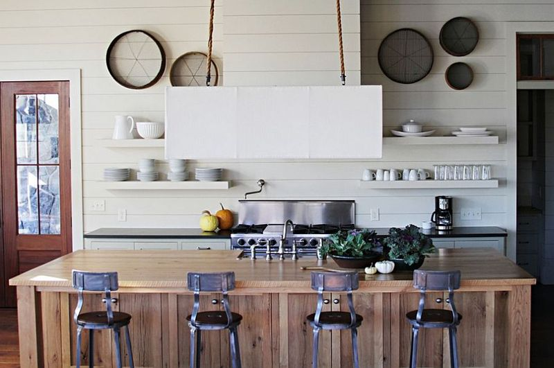 Drewno Z Odzysku Z Kuchni Fronty Ze Starego Drewna Industrial Style Kitchen Kitchen Design Kitchen Remodel