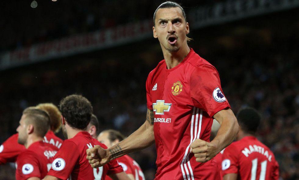 Hylles etter superdebuten på Old Trafford: - Rooney er i Zlatans verden nå…