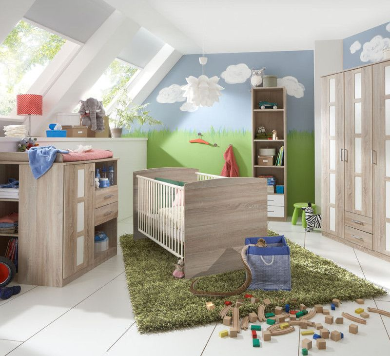 WIMEX Babyzimmer BAMBI, 5teilig » 0,€ Versand Kinder
