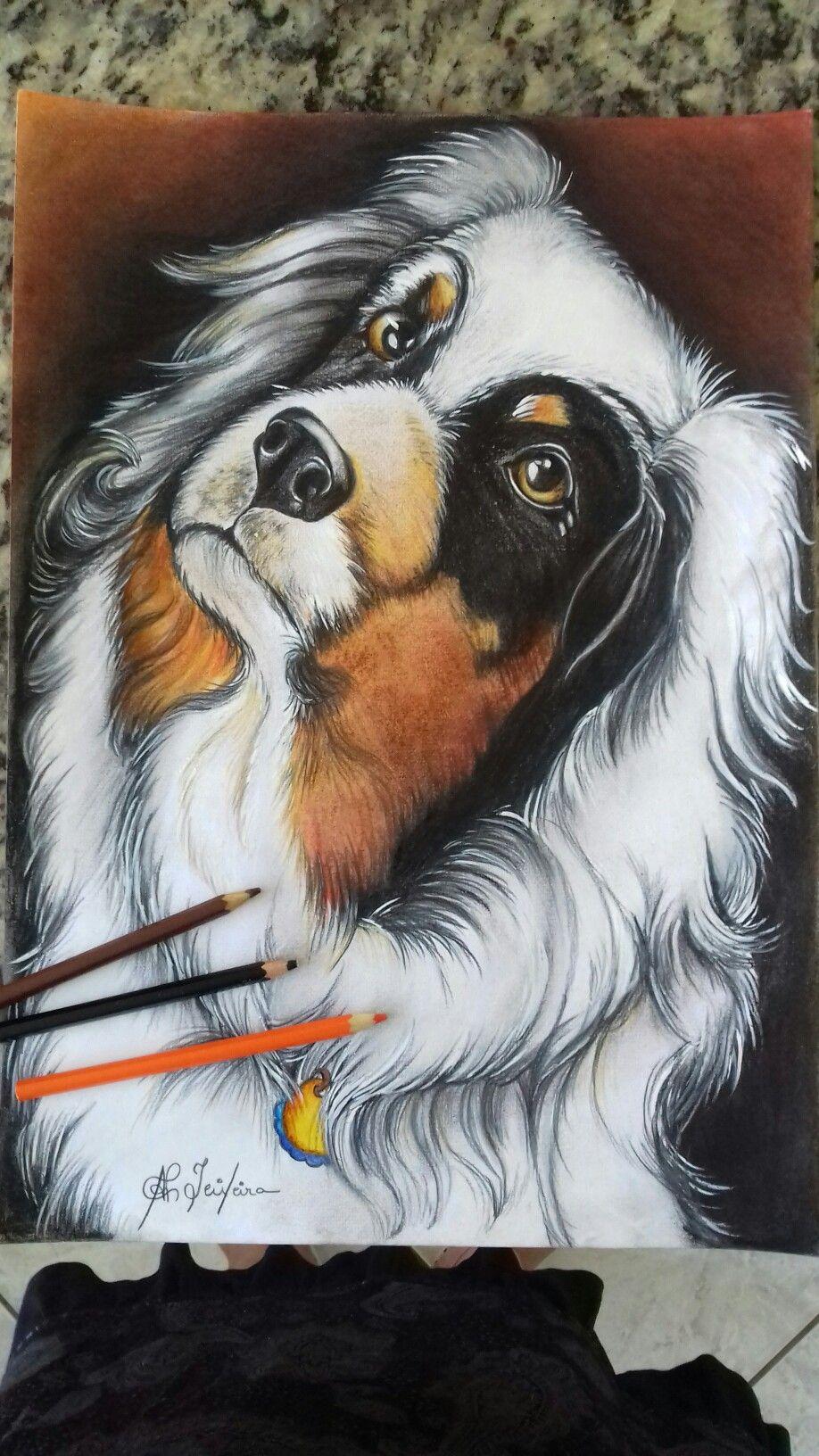 Desenho de Ana Paula Campos Teixeira  Cachorro