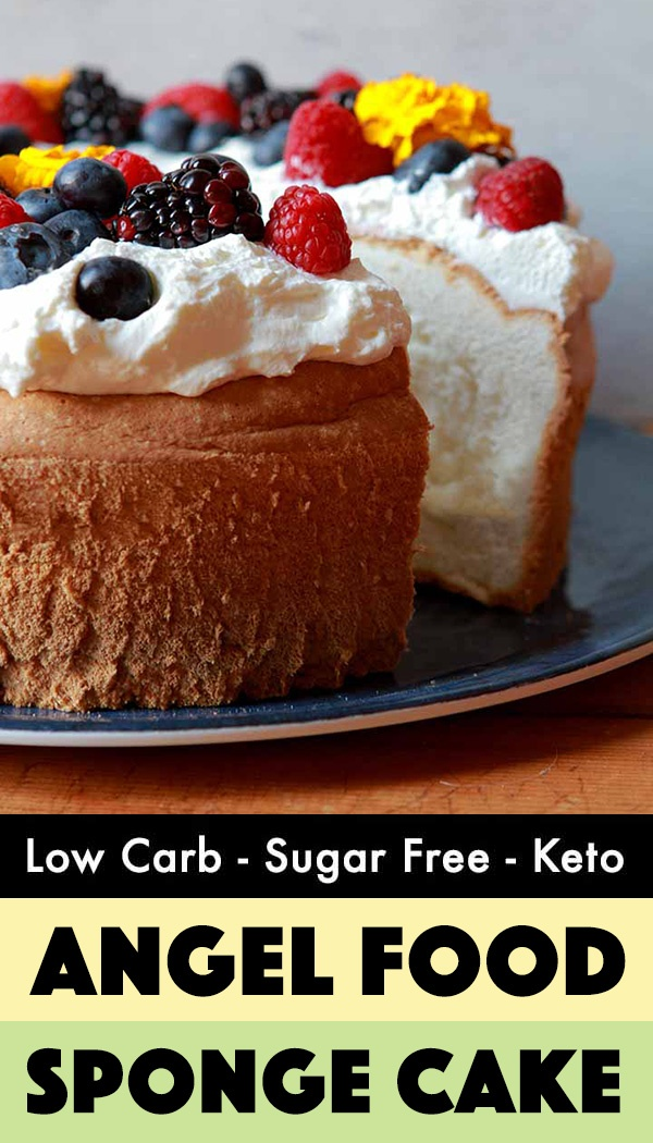 Low Carb Angel Food Cake - Resolution Eats