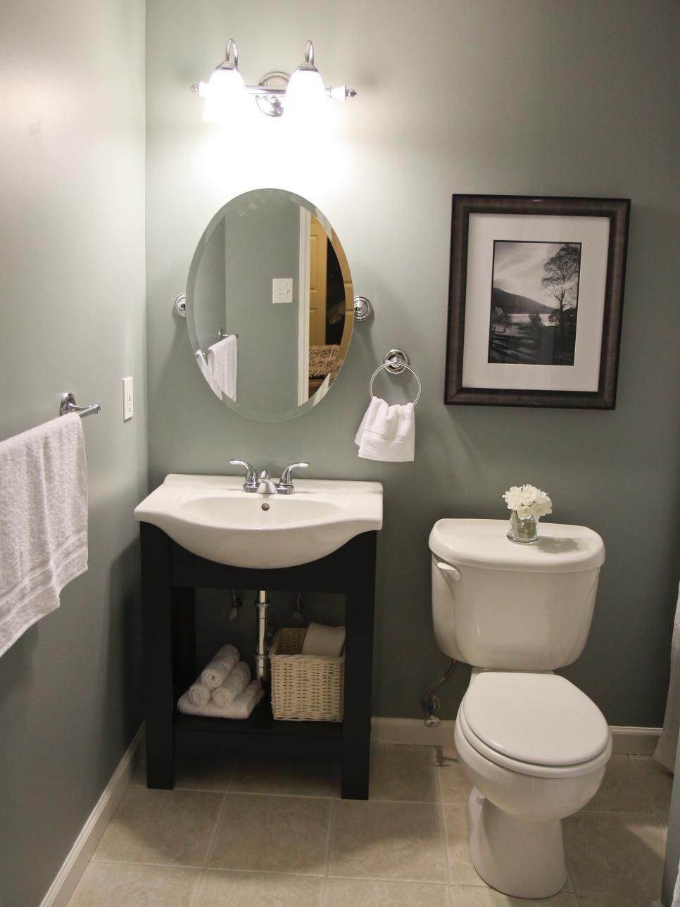 Budget Bathroom Remodels Pinterest Vanities Hardware And - How to remodel an old bathroom