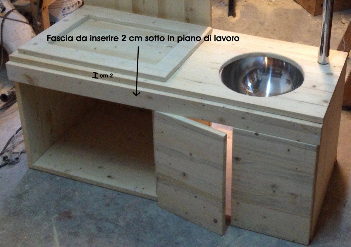 Guest post: Come costruire una cucina giocattolo in legno per i ...