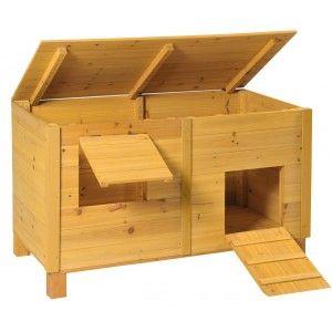 poulailler bois picota pour 2 3 poules poulailler pas cher de part sa simplicit chicken. Black Bedroom Furniture Sets. Home Design Ideas