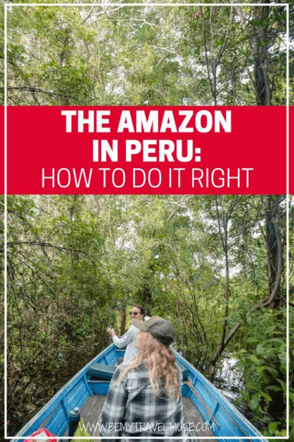 Here's everything you need to know about the Amazon Peru South America! My top tips on how to do it right which of the two distinct regions to choose activitiy tips unique things to do and how you can join me on the same trip soon   Be My Travel Muse   #Peru #SouthAmerica #traveldestinations #travel #destinations #brazil #travel #destinations
