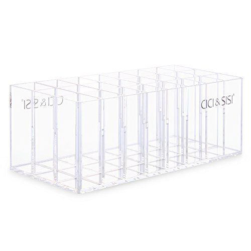 CICI&SISI Transparent Acrylic Lip Gloss Organizer and Beauty Care Holder 24 Space Storage CICI&SISI http://www.amazon.com/dp/B00M94X9R6/ref=cm_sw_r_pi_dp_GIFNwb18PM77J