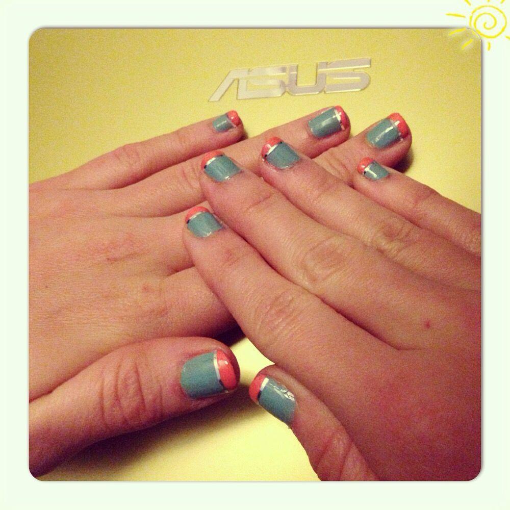 Sunday nails ;) the new style!!! | Nails | Pinterest