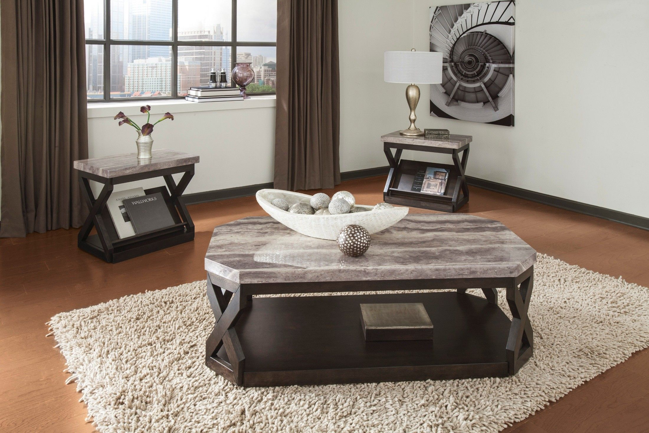 Radilyn 3 In 1 Occasional Table Set In 2020 Living Room Table Sets Stylish Coffee Table Living Room Coffee Table #three #piece #living #room #table #set