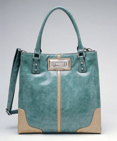 Tosca Mint Satchel by Sophisticated Style & Tosca