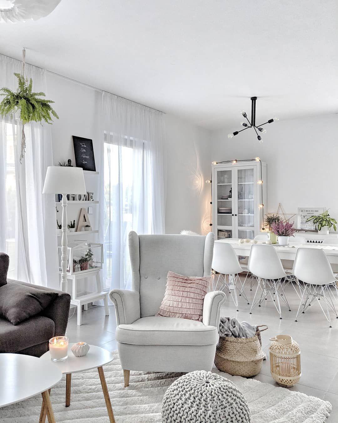 Fotel Uszak Strandmon Ikea Armchair Living Room Salon