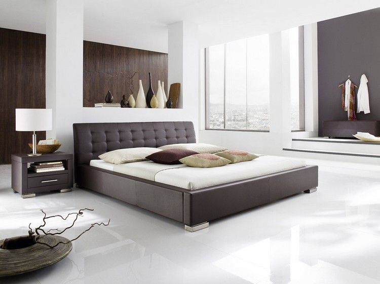 gray and white bedroom decoration ideas Bedroom Decor Ideas - schlafzimmer wei amp szlig braun