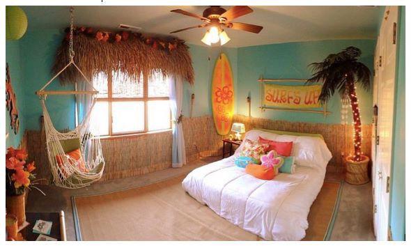 Beach Theme Bedroom Themes Tropical Bedrooms Hawaiian Bedroom