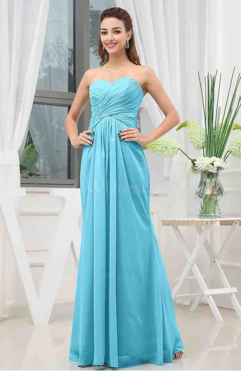 Tiffany Blue Long Bridesmaid Dresses   long bridesmaid dresses ...
