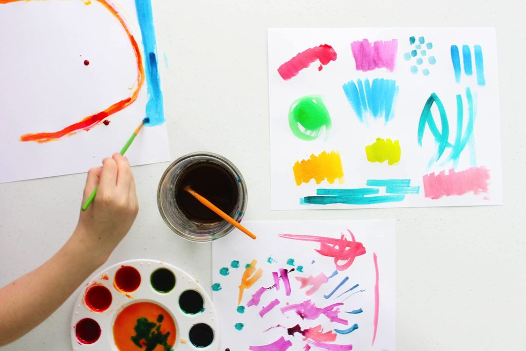 How To Make Watercolor Paints That Are Safe For Kids Art Videos