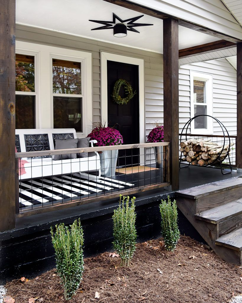 One Room Challenge: Week 6: Small House Porch Makeover – a small life