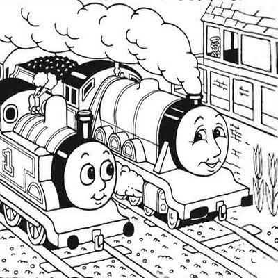 Thomas and Friends Coloring Pages - Enjoy Coloring | Animation ...