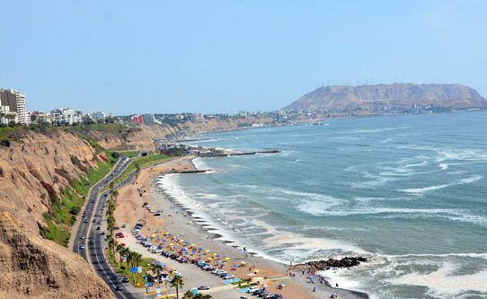 Miraflores In A Short Drive From The Country Club Lima Hotel