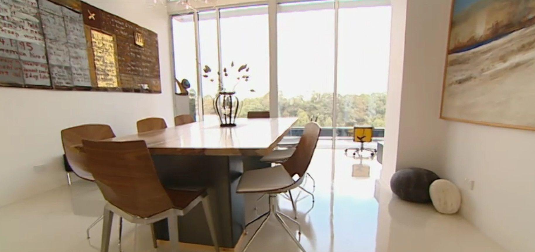 Grand Designs Australia White resin floor. 5 Flooring