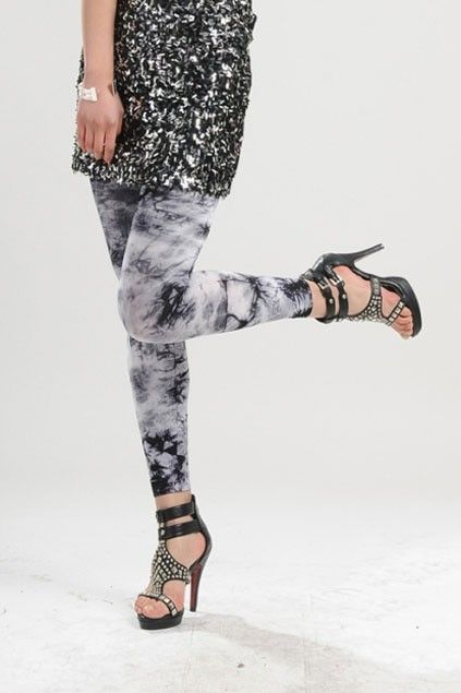 Fashion Bandhnu Skinny Leggings OASAP.com