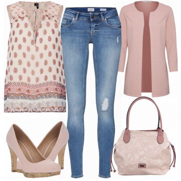 VERO MODA Camicetta Top Outfit – Abiti da lavoro a FrauenOutfits.de