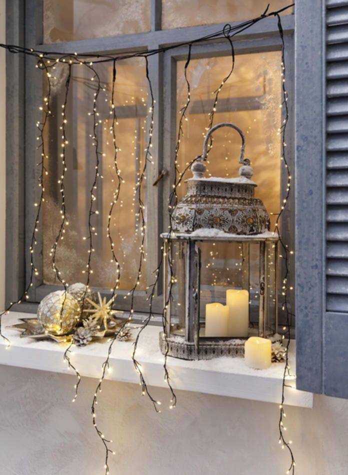laterne im nostalgischen stil holiday season pinterest. Black Bedroom Furniture Sets. Home Design Ideas