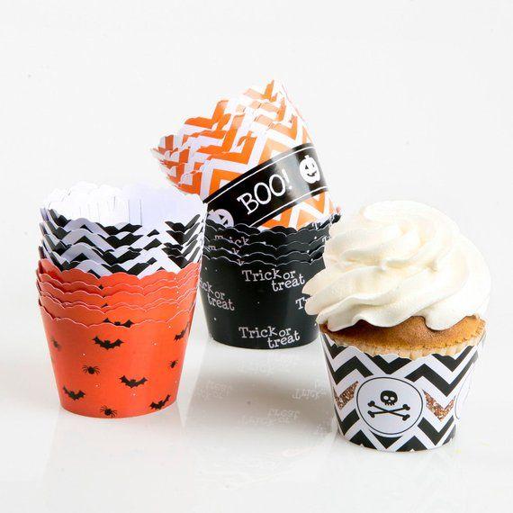 Assorted Halloween Cupcake Decorations - Halloween Party Cupcake
