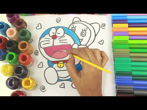 Doraemon Coloring Pages For Childrens Draw And Color Doraemon Funny Coloring Videos Youtube Dora And Friends Coloring Pages Coloring Pages For Kids