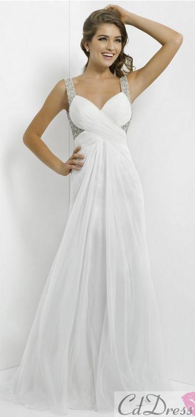 white prom dress white prom dress | Prahm | Pinterest | Prom, Dress ...