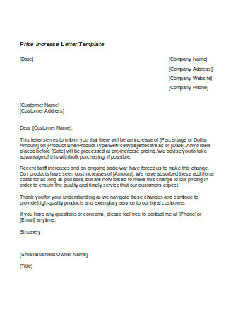 Price Increase Letter To Customers from i.pinimg.com