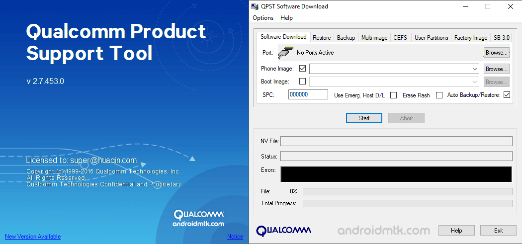 QPST Flash Tool Latest Version Download | Free Software