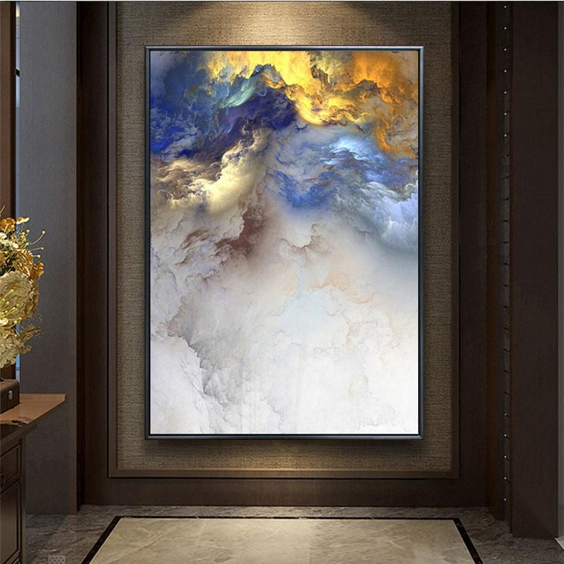 Haochu Modern Simple Abstract Decorative Painting Business Office Amusing Living Room Paintings 2018
