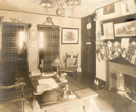 Penn Quadrangle Dorm Room Ca. 1900